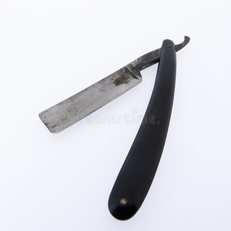Old Hairdressing tool - Razor stock images
