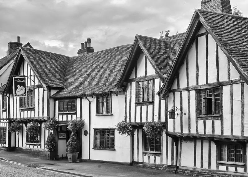 Old half timbered tudor inn editorial stock photo image for Half timbered house plans