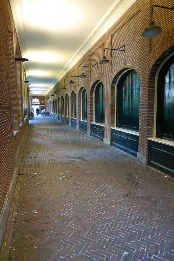 Download Old hallway vertical stock image. Image of arches, europe - 9955553