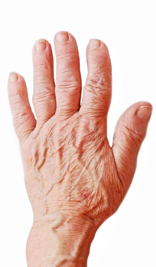 Old hand stock photos
