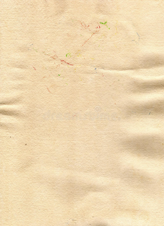 Download Old hand made paper stock image. Image of handmade, linen - 33911343