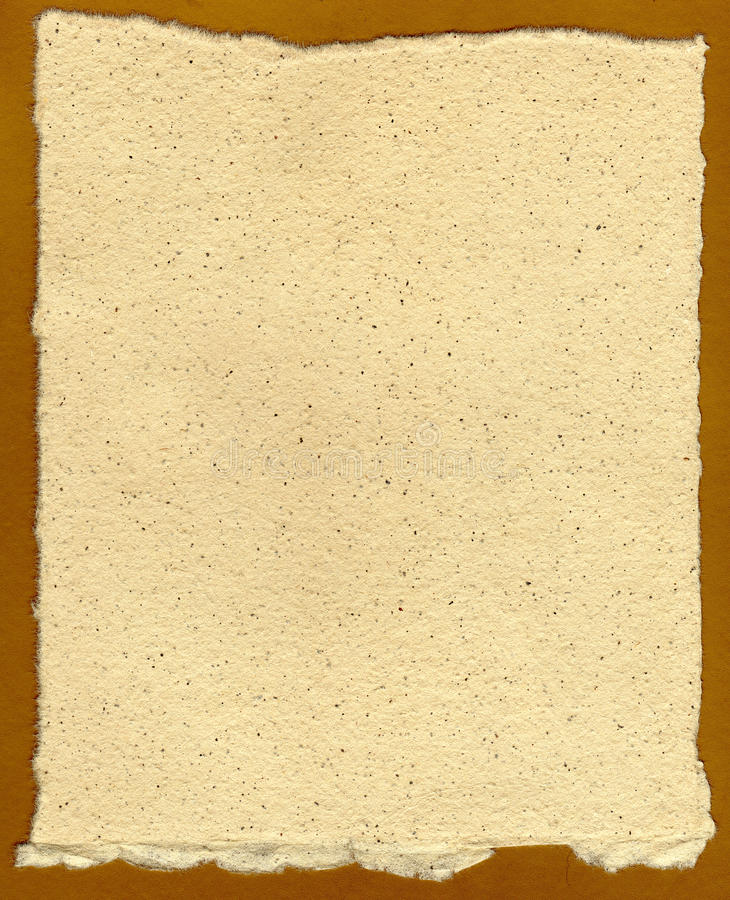 Download Old Hand Made Paper stock photo. Image of linen, cardboard - 33943918