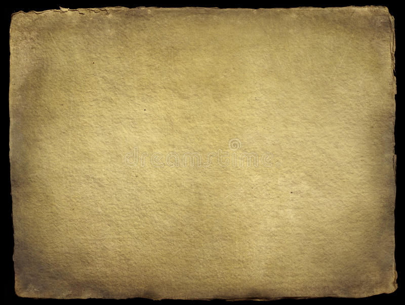Old Handmade Paper Stock Photo