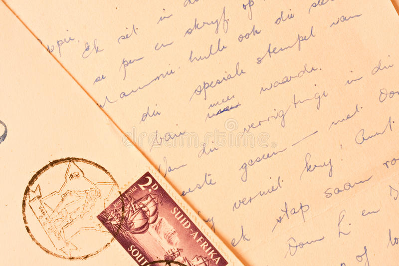 Download Old handwritten letter stock photo. Image of communication - 14850890