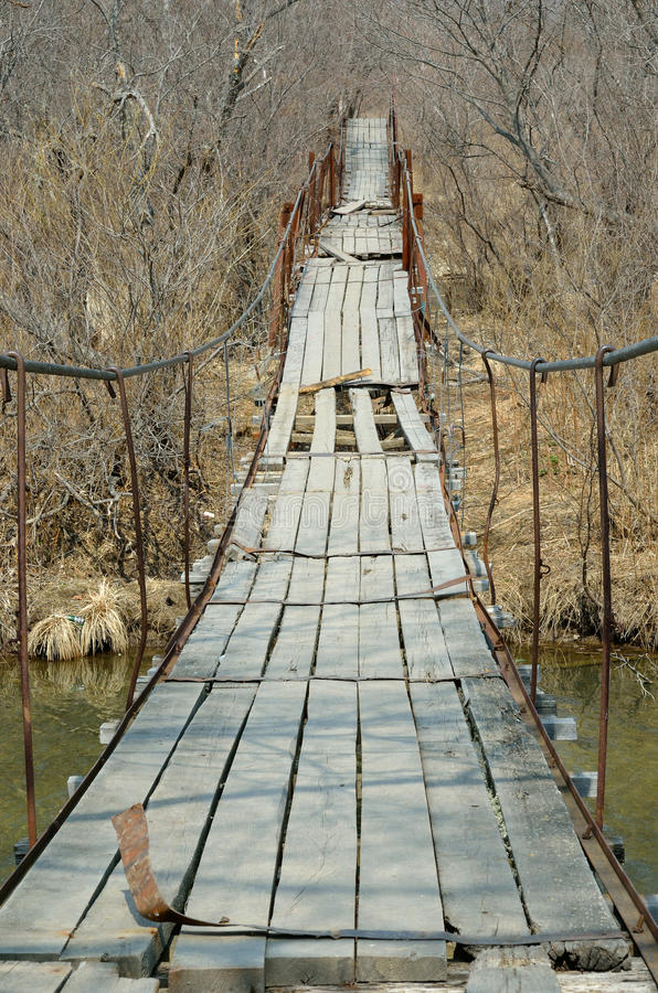 Free Old Hanging Bridge 2 Stock Photos - 24693883