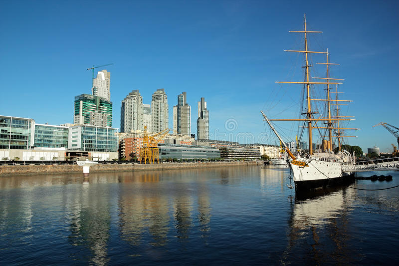 Download Old harbor, Buenos Aires stock photo. Image of south - 20344654