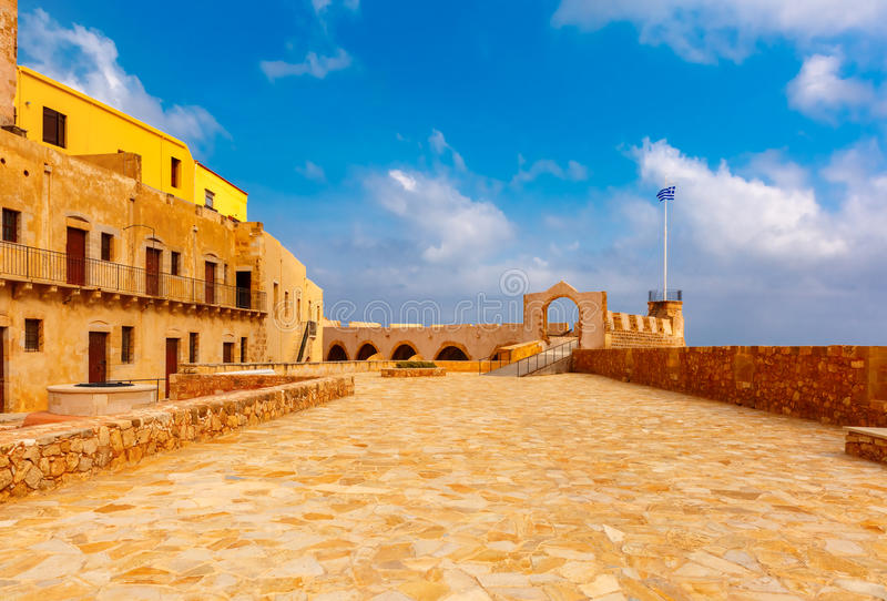 Old harbour, Chania, Crete, Greece royalty free stock photography