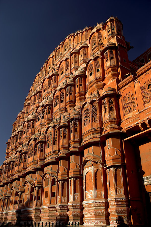 Old harem house in India royalty free stock photo