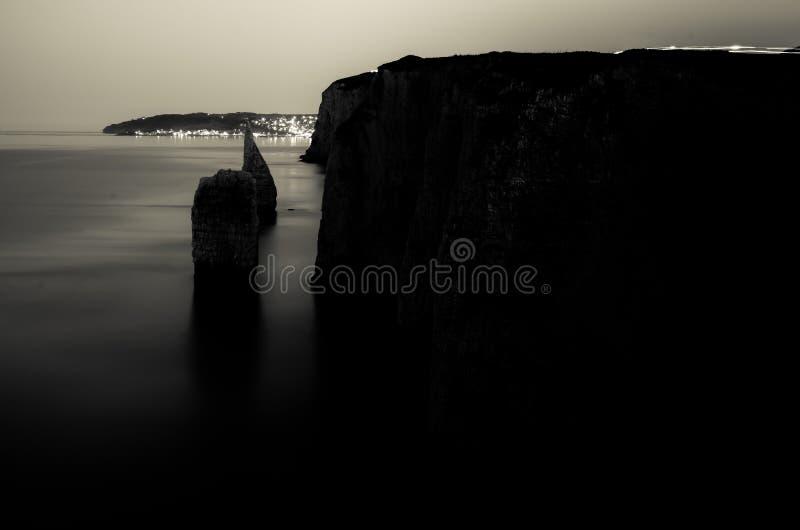 Old Harry Rocks. Formation on the Jurassic coast of Dorset, UK stock photos