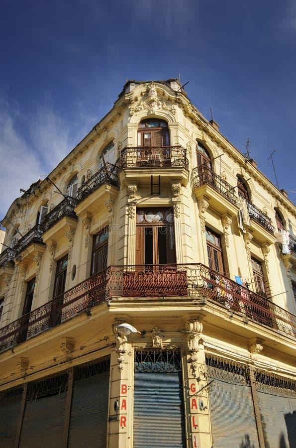 Download Old Havana building facade stock image. Image of heritage - 15899987