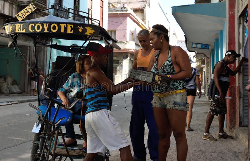 Old Havana streets. Old Havana is the city-center downtown and one of the 15 municipalities or boroughs forming Havana, Cuba. It has the second highest stock photo