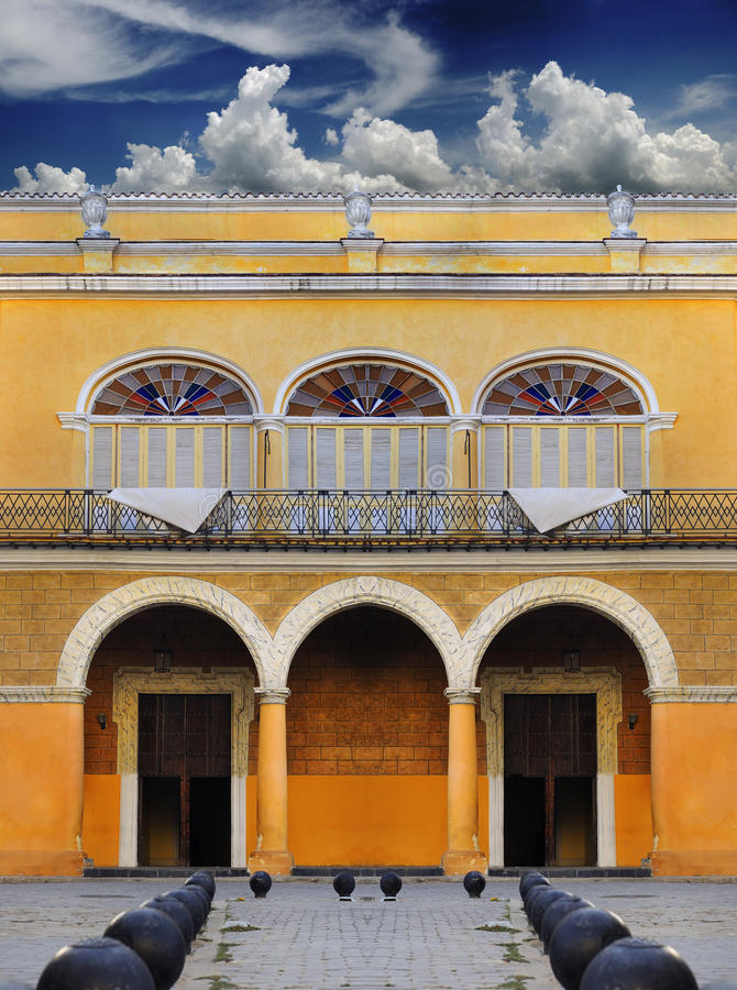 Free Old Havana Colonial Building Stock Photography - 11473062