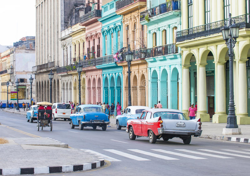 Old Havana , Cuba royalty free stock photos