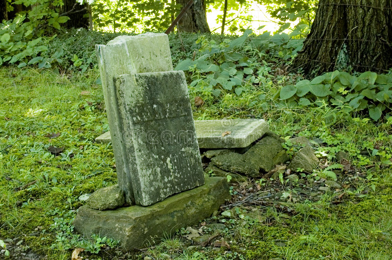 Download Old Headstones stock image. Image of marker, rest, worn - 1034291