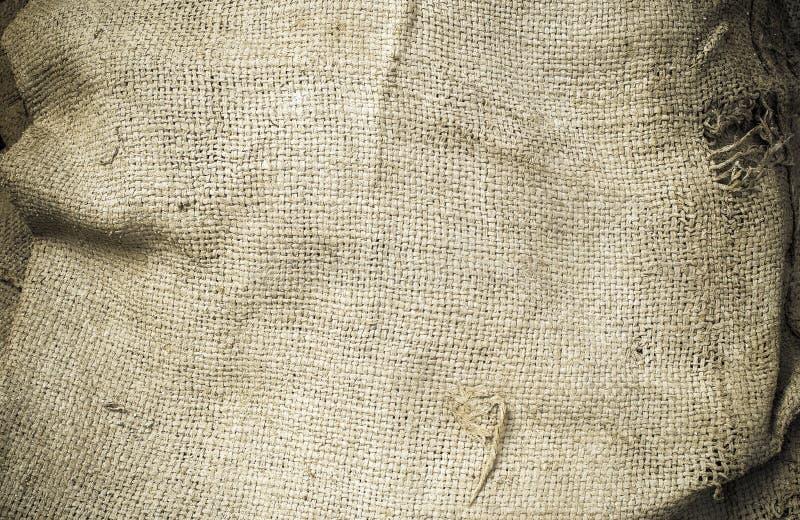 Old hemp sack grunge stock images