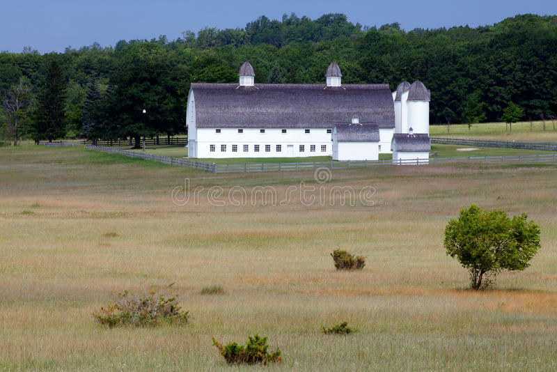 Old Historical Barn In Sleeping Bear Dunes Nationa Royalty Free Stock Images