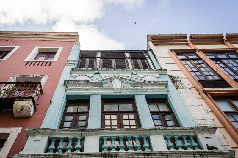 Old and Historical Buildings in Brazil. In Recife City with clear sky royalty free stock photography