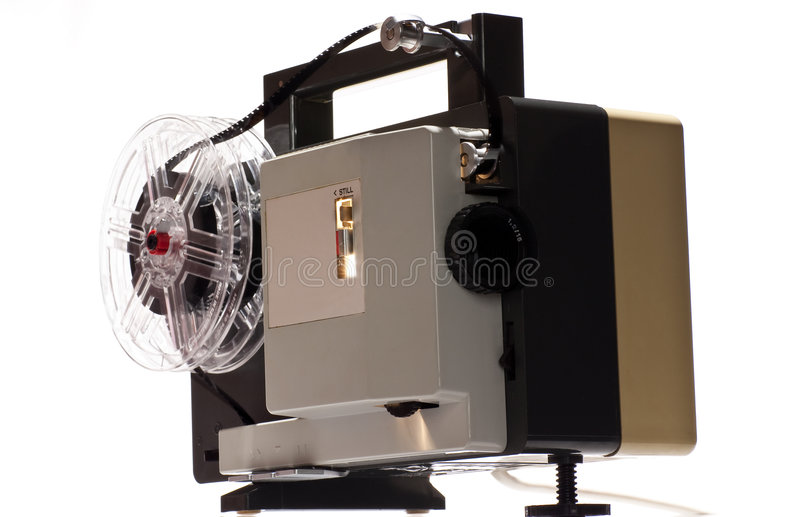 Download Old home cinema projector stock image. Image of motor - 9204669