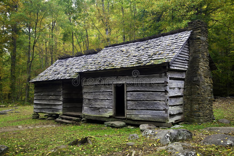 An old Homestead in the Smoky Mountains royalty free stock photography