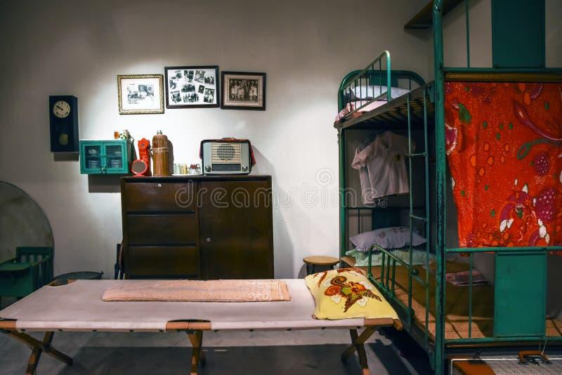 Old Hong Kong residents. Old Hong Kong traditional residents royalty free stock photography