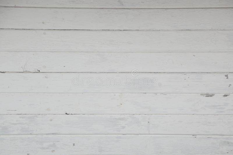Old horizontal white painted boards on a boathouse royalty free stock image