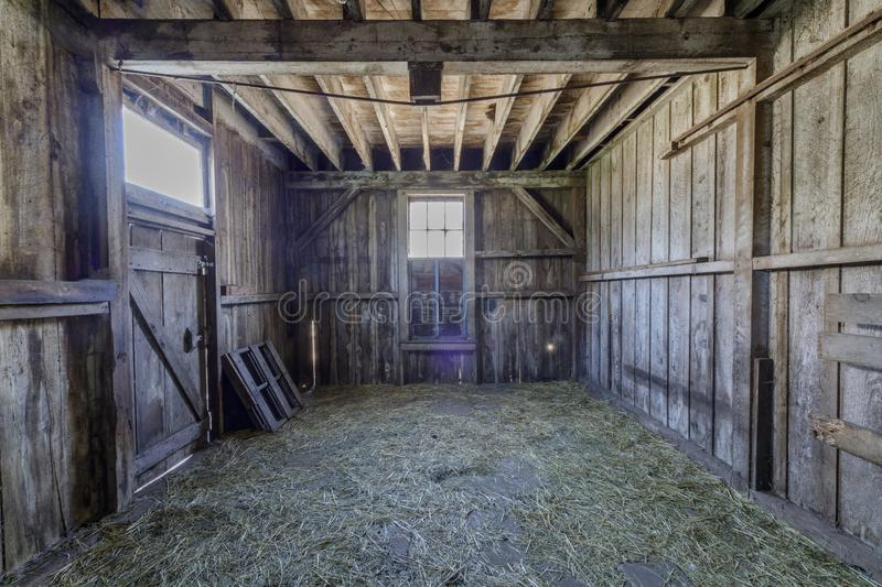 Old Horse Barn at Wilder Ranch State Park. The park was formerly a dairy ranch, and many of the ranch buildings have been restored for use as a museum. Wilder royalty free stock images