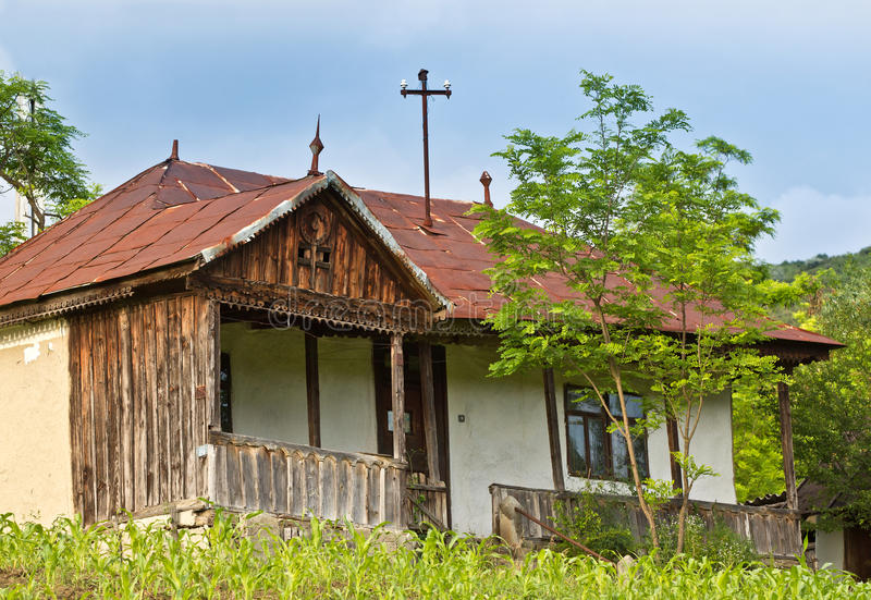 Download Old house stock image. Image of roof, romanian, ruin - 19897861