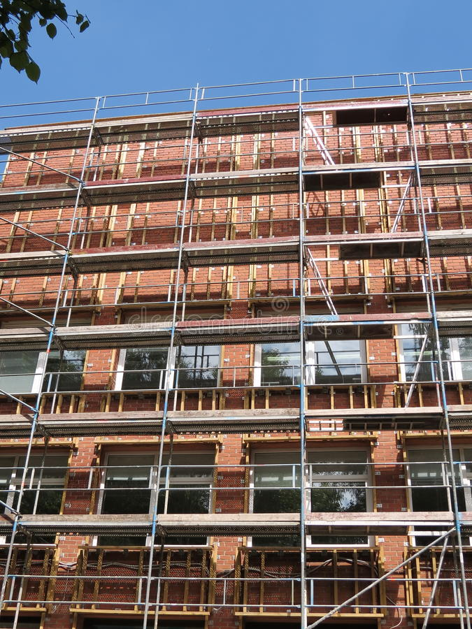 Download Old house stock photo. Image of reconstruct, hight, building - 25373234