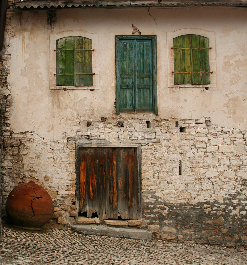 Download Old House stock image. Image of ruined, closed, green - 6952251