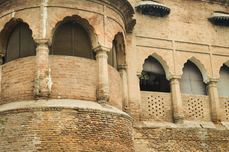 Architecture history old building fort balcony stock images
