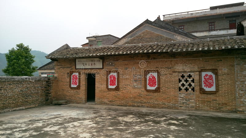 Old House in China stock photos