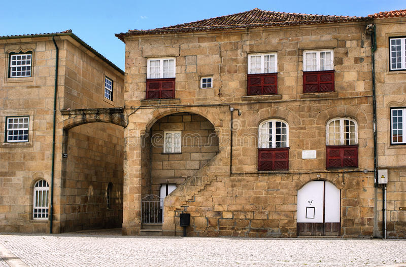 Download Old House Of Diogo Cao, A Portuguese Navigator Stock Image - Image of aged, granite: 84855501