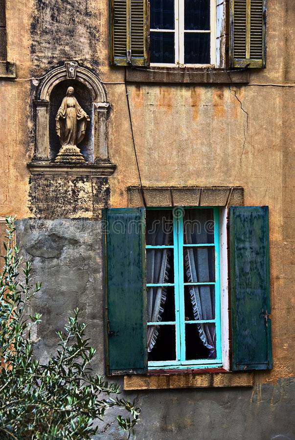 Download Old house facade stock photo. Image of brown, ruin, french - 3025306