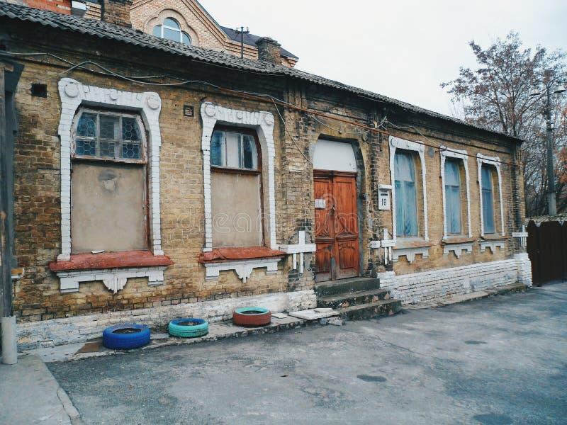 Download Old house facadeKiev stock image Image