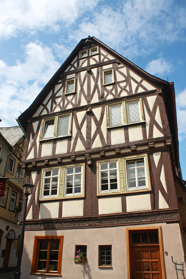Download Old house in Germany stock image. Image of deutchland - 13605409