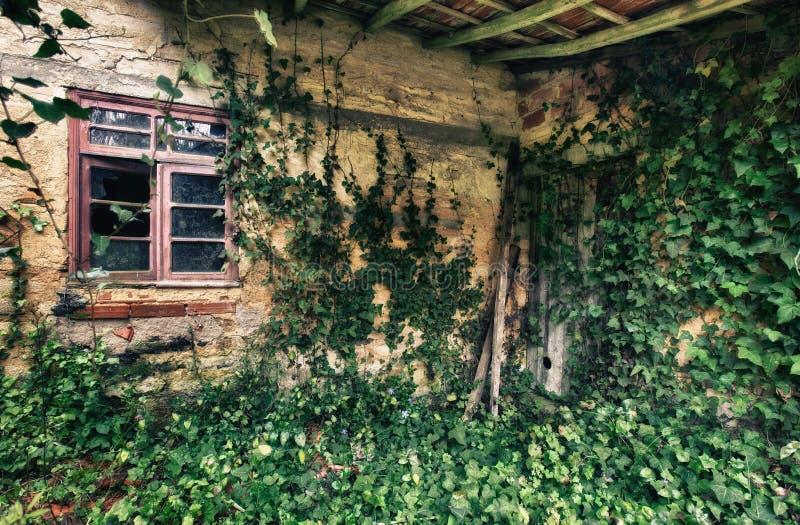 Old house. Interior abandon house royalty free stock photo