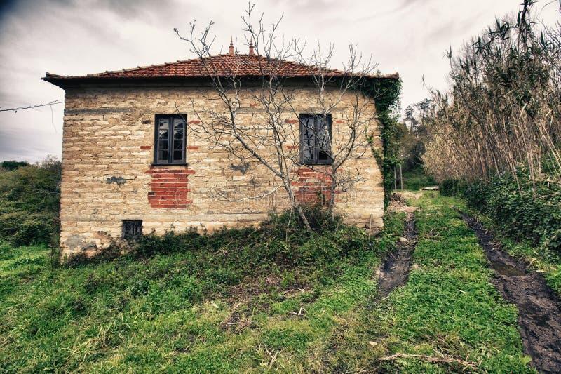Old house. Interior abandon house stock photos