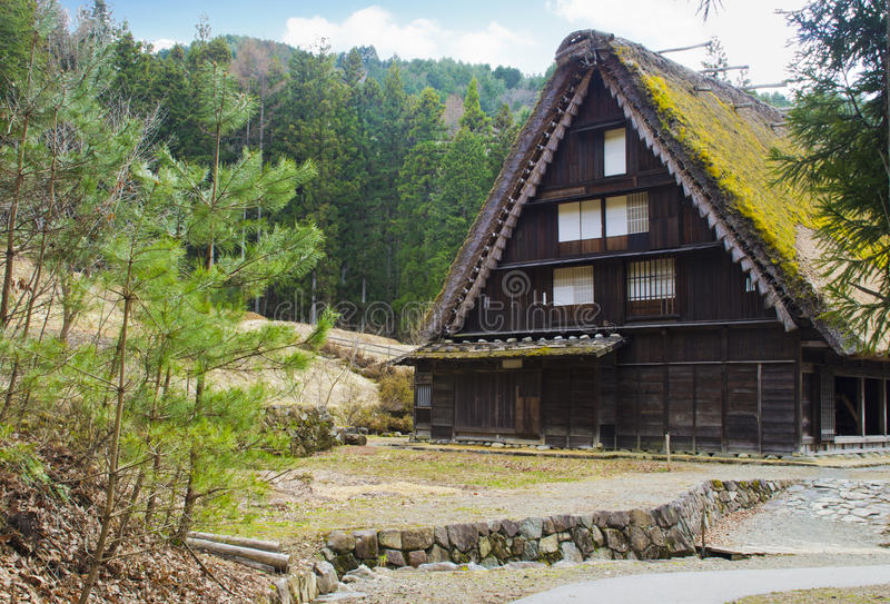 Old house in japan stock images