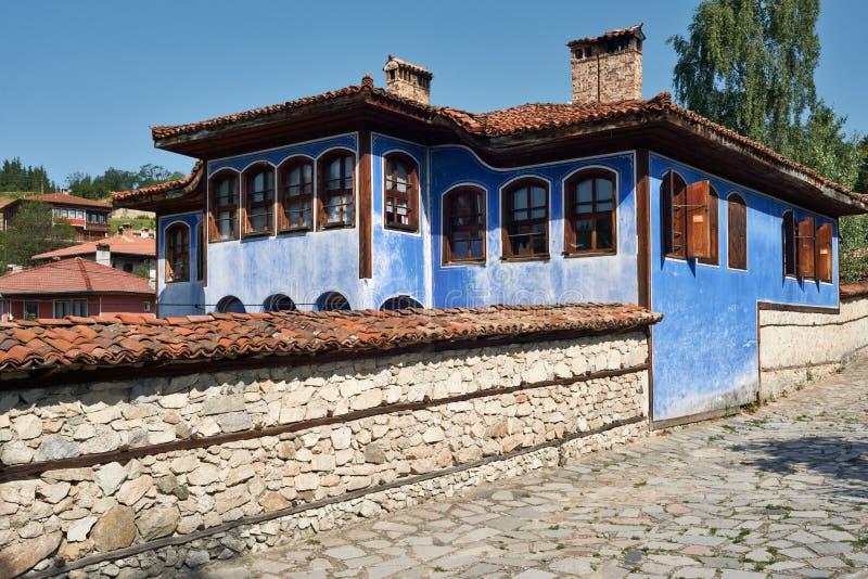 Old house in Koprivshtitsa, Bulgaria royalty free stock photos