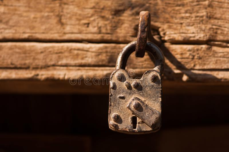 An old house lock. Old house lock door locker security ancient secure locks locler stock photos