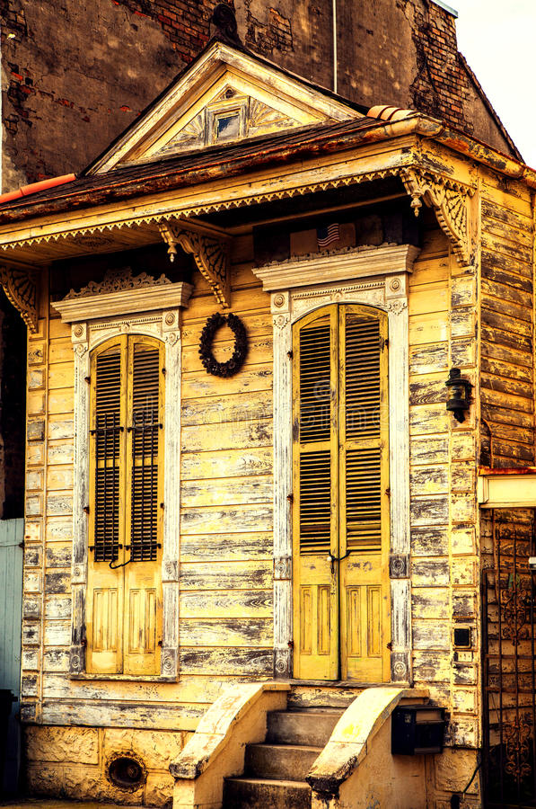 Old house in New Orleans royalty free stock image