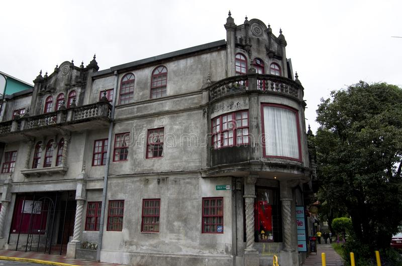 Old house San Jose Costa Rica royalty free stock photography