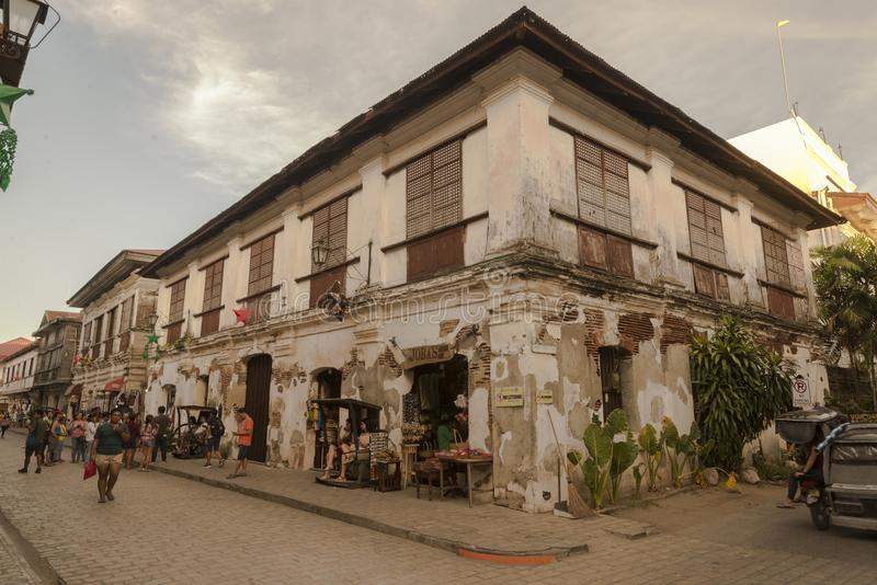 Vigan old house royalty free stock photography