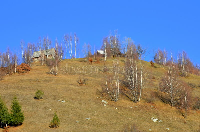 Download Old House On Top Of The Hill Stock Image - Image: 28202839