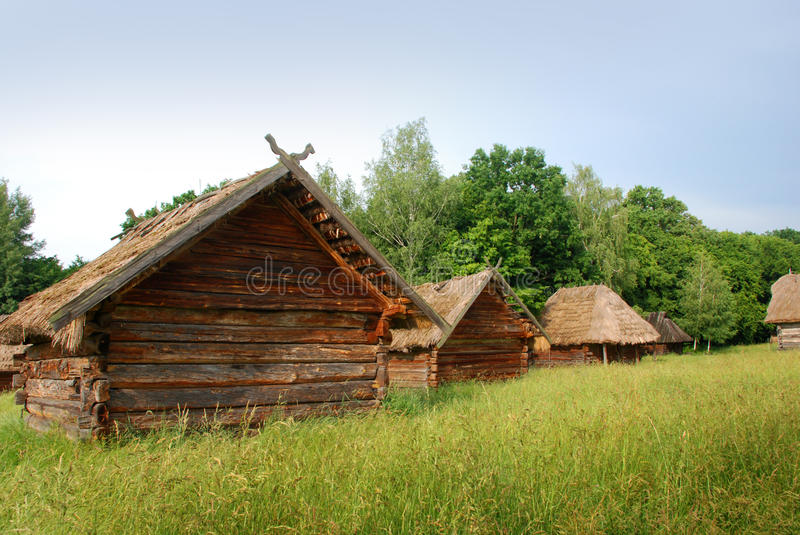 Old Houses Royalty Free Stock Photography