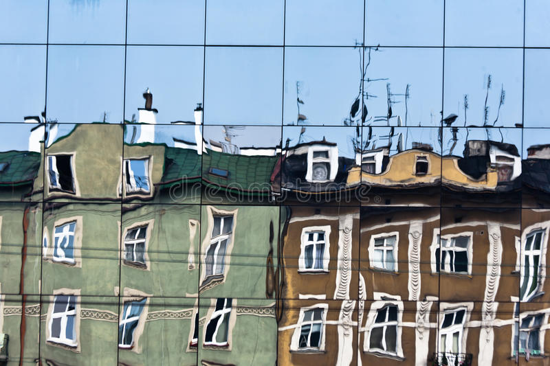 Old Houses In Krakow. Royalty Free Stock Photo