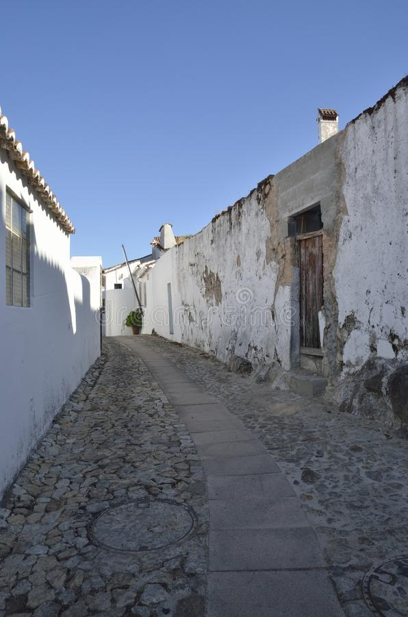 Old houses in Portugal village royalty free stock image
