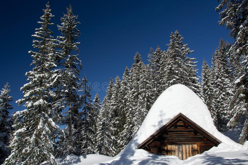 Download Old hut stock photo. Image of nature, light, hills, austria - 25171184