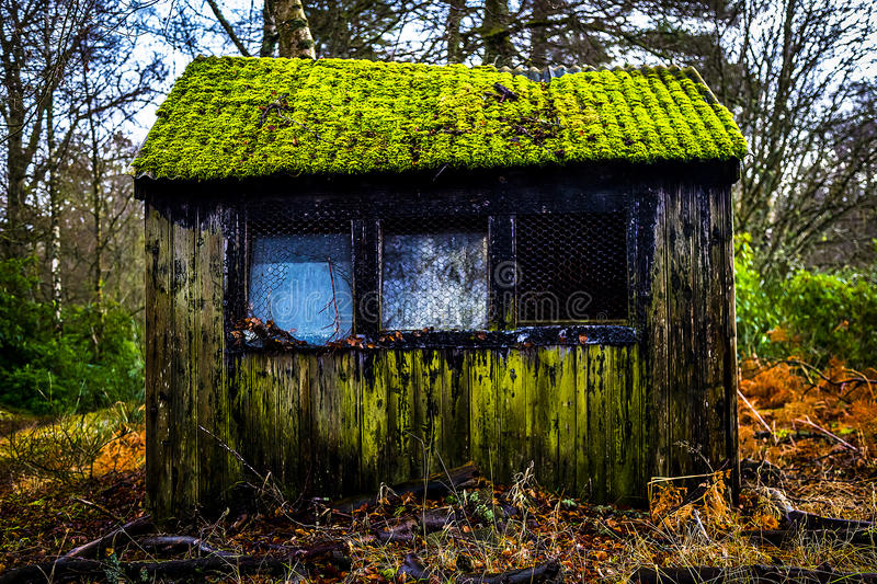 Old hut exterior royalty free stock photos