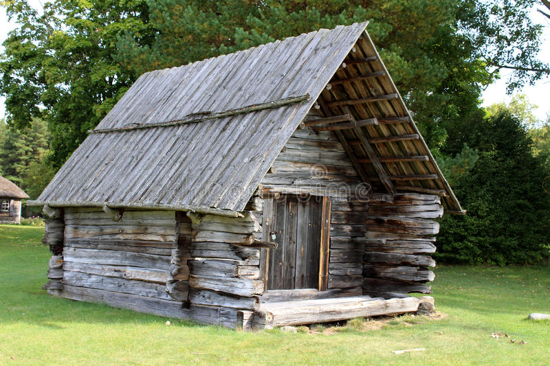 Old hut royalty free stock image